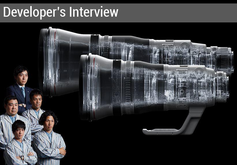 Developer's Interview 400mm 600mm