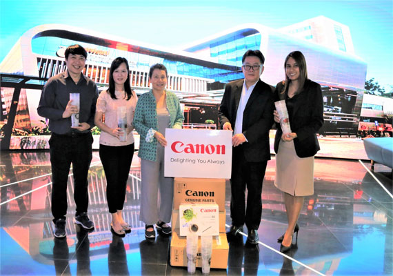Canon Helps Preserve Nature by Donating Plastic Cups