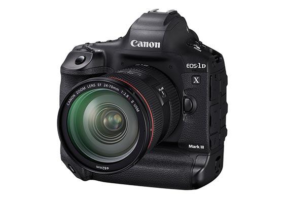 Canon Announces Development of the New EOS-1D X Mark III Flagship DSLR Camera