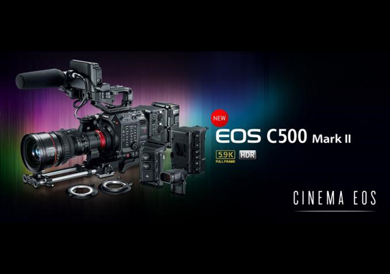 Canon introduces EOS C500 Mark II to advance into professional full-frame cinema camera market