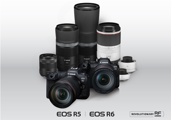 Canon unveils new EOS R5 and EOS R6 flagship full-frame mirrorless cameras along with four new RF lenses and two teleconverters