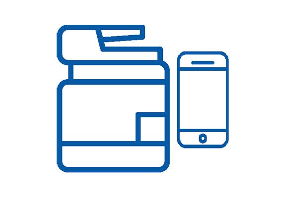 uniFLOW Print & Scan App