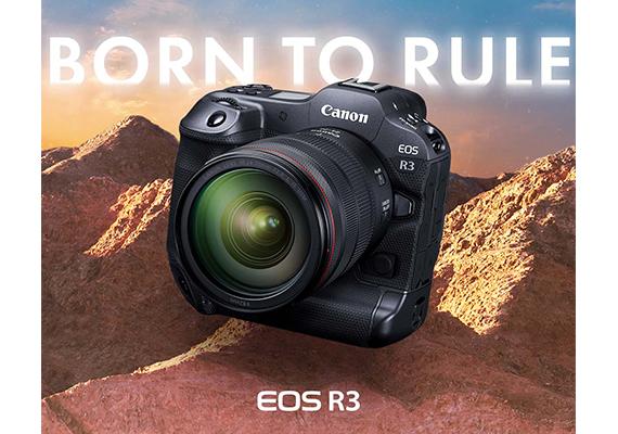 แคนนอน เปิดตัว Canon EOS R3 ที่สุดแห่งเทคโนโลยีบนกล้องมิเรอร์เลสฟูลเฟรม  พร้อมเลนส์ RF ใหม่ ให้ทุกการสร้างสรรค์เหนือจินตนาการเป็นไปได้