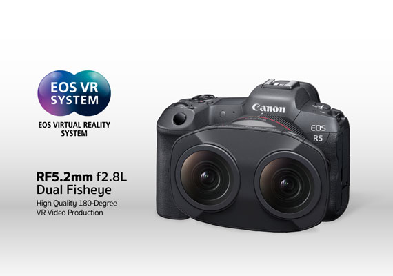 สะเทือนวงการ! แคนนอน เผยโฉม RF5.2mm f/2.8L Dual Fisheye เลนส์สุดล้ำ รองรับเทรนด์การถ่ายวิดีโอ Virtual Reality คมชัด สมจริง ครบจบในตัวเดียว