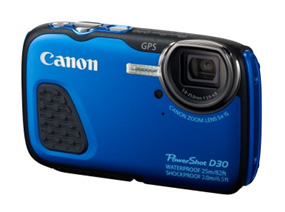 Canon Introduces The World's1 Deepest 25m Waterproof Compact